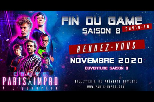 Fin du Game «Paris Impro à l'Européen»